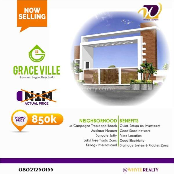 Land, Graceville Estate, Ikegun Ibeju Lekki Lagos., Ikegun, Ibeju Lekki, Lagos, Residential Land for Sale
