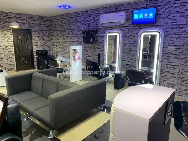 Luxury Unisex Saloon Shop, Fully Equipped, Osapa, Lekki, Lagos, Shop for Sale