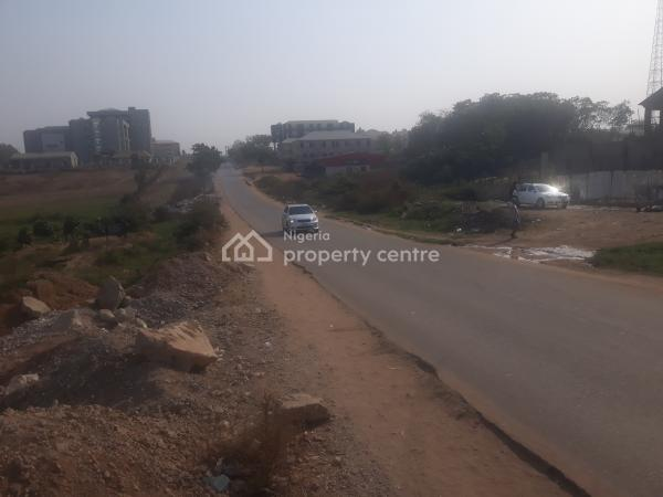 Fenced & Strategically Located Hotel Landuse, Along Code of Conduct Road By Sigma Apartment Off Obafemi Awolowo Way, Jabi, Abuja, Commercial Land for Sale