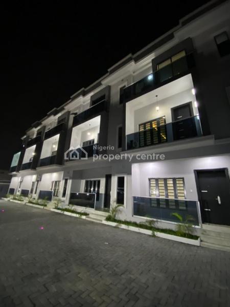 a Brand New 4 Bedrooms Terrace House + 1 Room Bq, Lekki Phase 1, Lekki, Lagos, Terraced Duplex for Sale