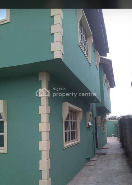 a Decent Building Containing a 3 Bedroom Flat Upstairs and a 2 Bedroom, 7 Adekola Shaba Close, Ishashi Akute, Akute, Ifo, Ogun, Block of Flats for Sale