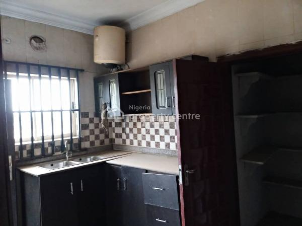 a Vacant 1 Unit 3 Bedroom Flat in a Block of 6 Flats, County Estate ,ogba, Ogba, Ikeja, Lagos, Flat for Sale