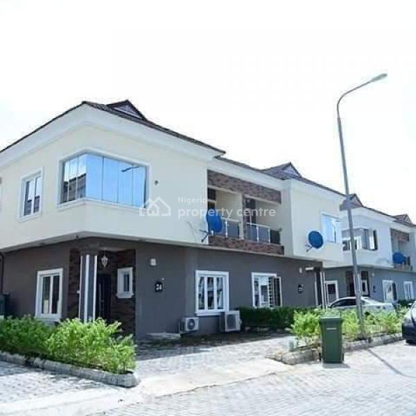 4 Bedroom Semi Detached House, Sangotedo, Ajah, Lagos, Semi-detached Duplex for Rent