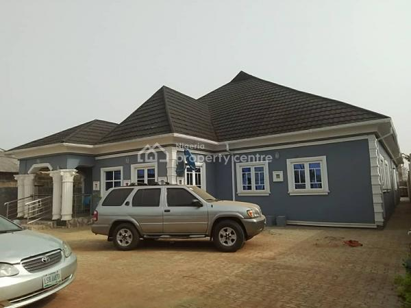 4 Bedroom, 2 Sitting Rooms, Self Contained at The Back and Security House, Atan Quarters After School of Health, Ilese, Ijebu Ode, Ogun, Detached Duplex for Sale