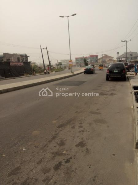 2 Plots of Fenced and Gated  Land Directly Facing The Road, Ado Road, Ado, Ajah, Lagos, Commercial Land for Sale