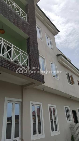 3 Bedroom Luxury Upstairs Flat in a Block of 2 Flats, Idedo Estate, Lekki Phase 1, Lekki, Lagos, Flat for Sale