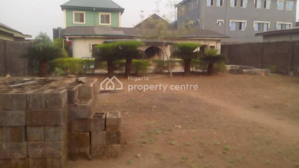 Decent 4 Bedroom Bungalow Plus 3shops on a Full Plot, Abaranje Road By Awawu Bus Stop Ikotun Lagos, Ikotun, Lagos, Detached Bungalow for Sale