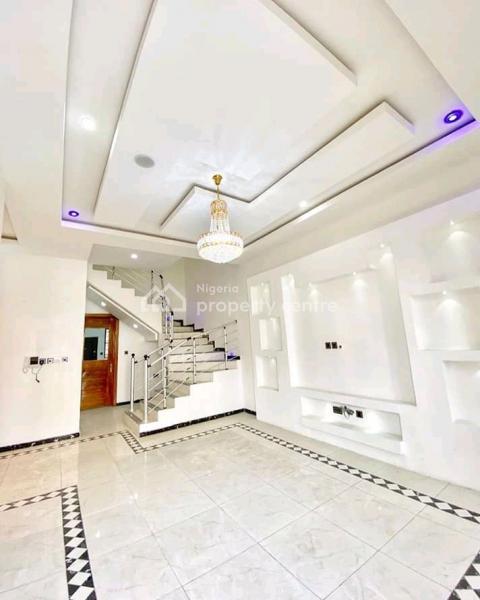 Brand New , Well Finished, 4bedroom Semi Detached Duplex + Bq, Osapa, Lekki, Lagos, Semi-detached Duplex for Sale