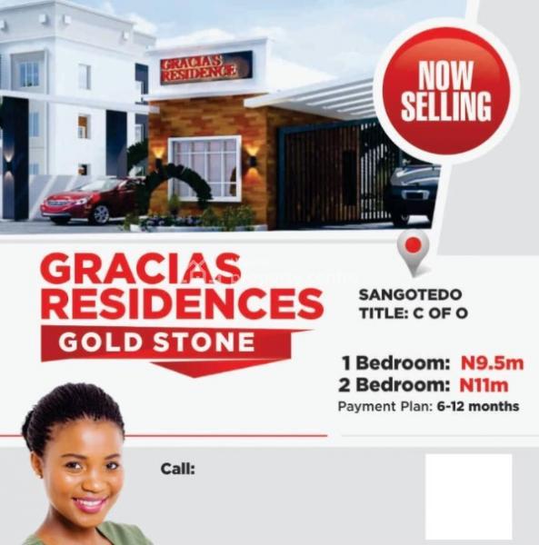 Gracias Residences, Sangotedo, Ajah, Lagos, House for Sale