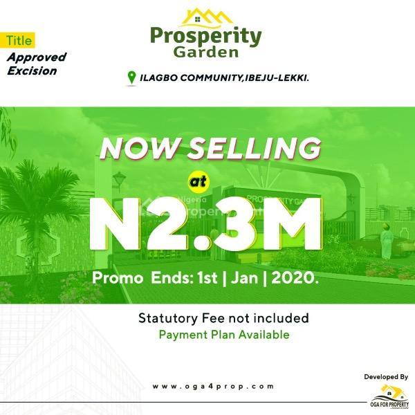 Prosperity Garden, Ilagbo Community, Ibeju Lekki, Lagos, Mixed-use Land for Sale