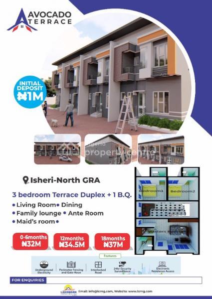 3 Bedroom Terraced Duplex, Gra, Isheri North, Lagos, Terraced Duplex for Sale
