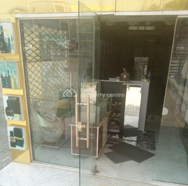 Furnished Shop Directly Facing Express, Sangotedo, Ajah, Lagos, Shop for Rent