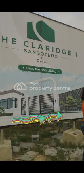 C of O Land, The Claridge 1 Estate, Behind Shoprite, Sangotedo, Ajah, Lagos, Residential Land for Sale