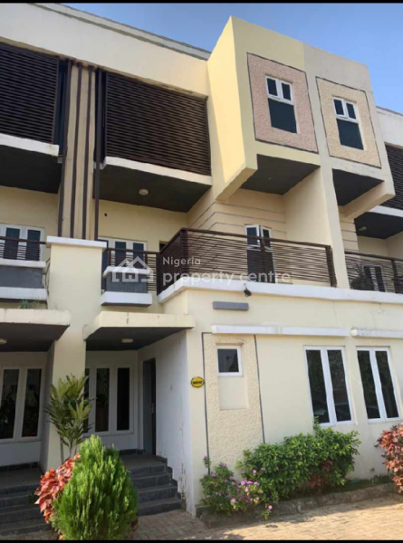 4 Bedroom Terrace with an Attached Bq, Guzape District, Abuja, Terraced Duplex for Sale