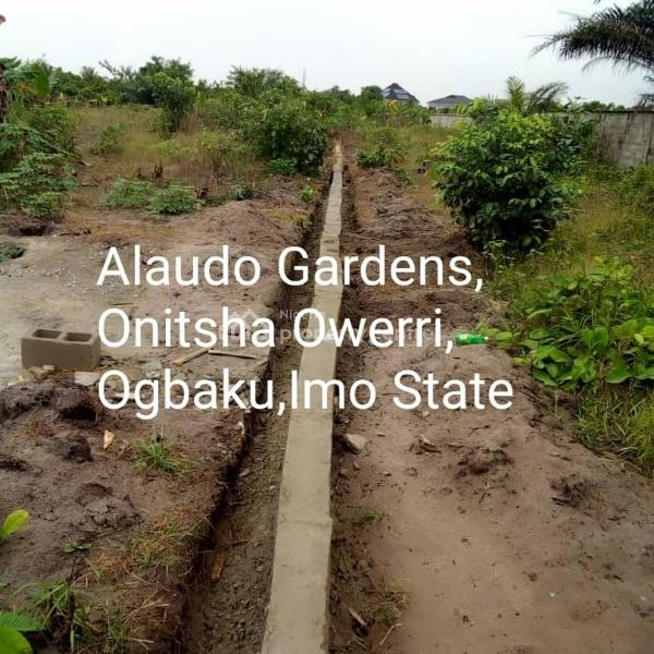 Affordable Lands in a Good Site, Ogbaku Onitsha Owerri Road, Owerri West, Imo, Residential Land for Sale
