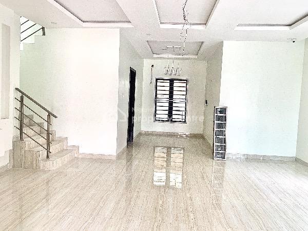 Luxury 5 Bedrooms with 1 Room Bq Fully Detached Duplex, Chevron, Lekki Phase 1, Lekki, Lagos, Detached Duplex for Sale