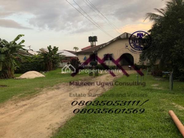 5 Bedroom Bungalow on 3 Plots of Land, Woji, Port Harcourt, Rivers, Detached Bungalow for Sale