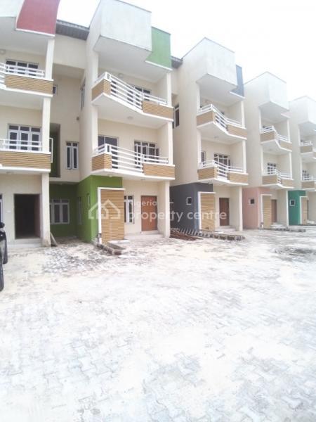 Brand New Serviced 4 Bedroom Terrace Duplex, Canal West Estate, Osapa, Lekki, Lagos, Terraced Duplex for Rent