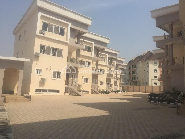 Newly Built 5bedroom Terace Duplex with 2sitting Room and  Bq, Guzape, Guzape District, Abuja, Terraced Duplex for Rent