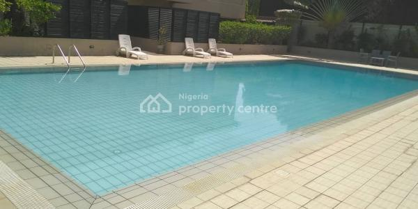a Block of 6 Units of Spacious and Serviced 3 Bedroom Flat with Bq, Overlooking Ibb Golf Course, Maitama District, Abuja, Mini Flat for Rent