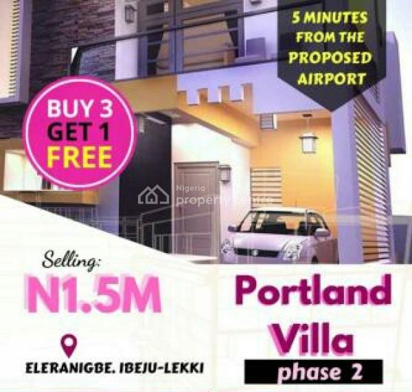 Portland Villa Estate Phase 2 (with Approved Excision), Close to The New Lekki International Airport, Eleranigbe, Ibeju Lekki, Lagos, Residential Land for Sale
