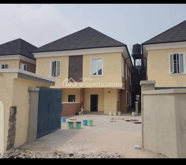 Self Service 4bed Rooms Semi Detected Duplex with a Bq, Gated Estate Ologolo, Ologolo, Lekki, Lagos, House for Rent