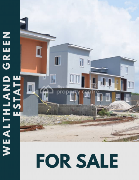 Affordable House with Excellent Facilities, Few Minutes Drive From The Prestigious Novare Mall, Sangotedo, Ajah, Lagos, Terraced Duplex for Sale