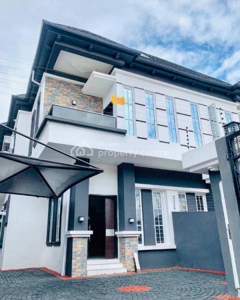 4 Bedroom Semi Detached Duplex with a Bq, Osapa, Lekki, Lagos, Semi-detached Duplex for Sale