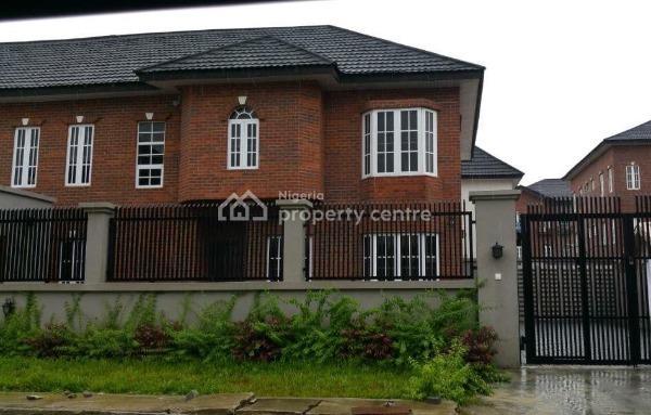 Nice and Spacious 4 Bedrooms Semi Detached Brick-house Duplex with Bq, Idado, Lekki, Lagos, Semi-detached Duplex for Sale