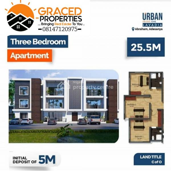 a Luxurious 3 Bedroom in a Beautiful Location, Beside Hi-life Estate, Diagonal to The Maternity Center, Ogombo, Ajah, Lagos, Block of Flats for Sale