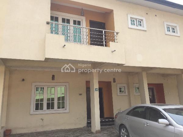 3 Bedroom Terrace Duplex Wit 24hrs Power, Off Chevron Drive , Chevron Alternative Route, Lekki, Lagos, Terraced Duplex for Rent