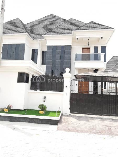 Luxury 4 Bedroom Semi-detached Duplex with a Room Bq, Bear Estate Chevron Drive Beside Chevron Head Office, Lekki Phase 2, Lekki, Lagos, Semi-detached Duplex for Sale