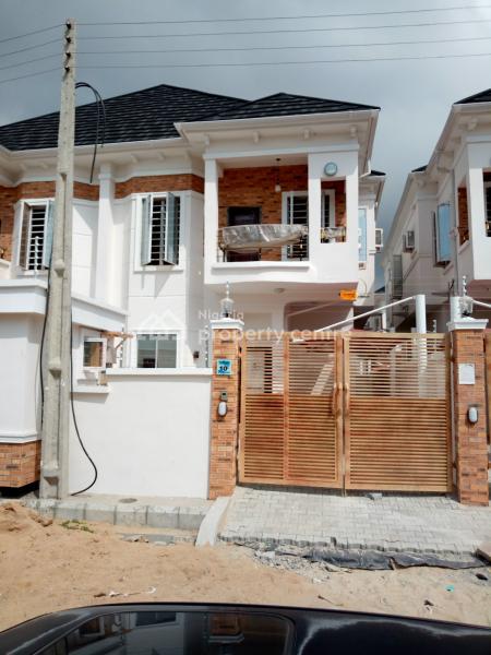 4 Bedroom Semi Detached Duplex with Bq, Orchid Hotel Road, Lafiaji, Lekki, Lagos, Semi-detached Duplex for Sale