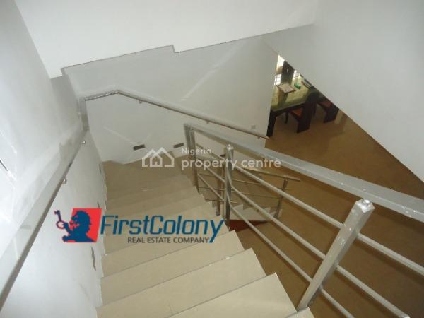 Luxury 4 Bedroom Terraced Duplex (self Serviced), Off Bisola Durosinmi Etti Street, Lekki Phase 1, Lekki, Lagos, Terraced Duplex for Sale