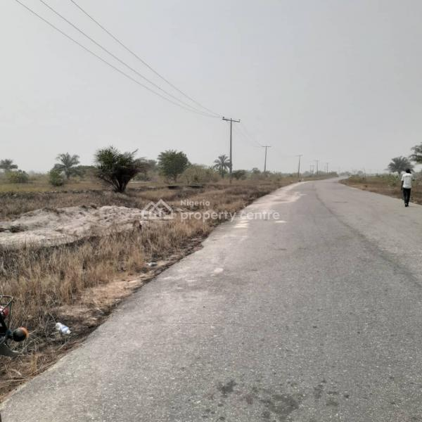 100% Dry Land with Perfect Title, Southern Atlantic Villas, Some Minutes From Tropicana Beach Resort, Ibeju Lekki, Lagos, Residential Land for Sale