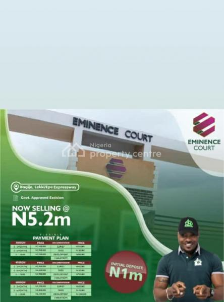 Land, Eminence Court, Sapati By Bogije Lekki-epe Expressway, Bogije, Ibeju Lekki, Lagos, Land for Sale