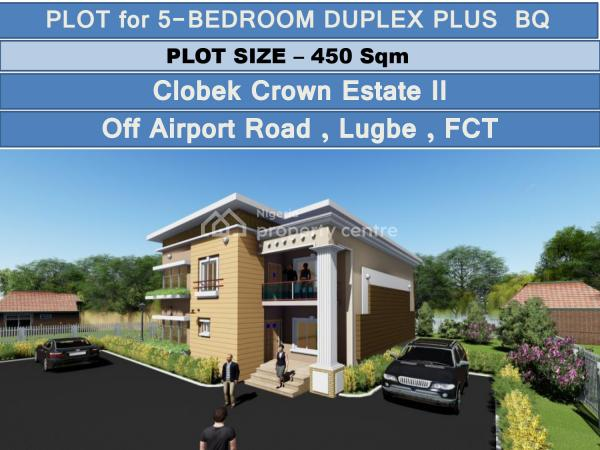 Prime Plots of Land with House Prototypes, Clobek Estate Opposite Trademore, Kiami, Lugbe District, Abuja, Residential Land for Sale