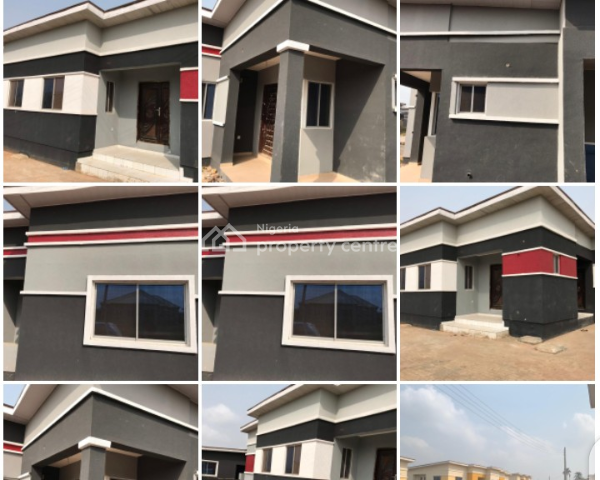 Cofo Title 3 Bedroom Bungalow, Orilemo By International Brewery Directly Opp St Paul Anglican Church, Obafemi Owode, Ogun, Detached Bungalow for Sale