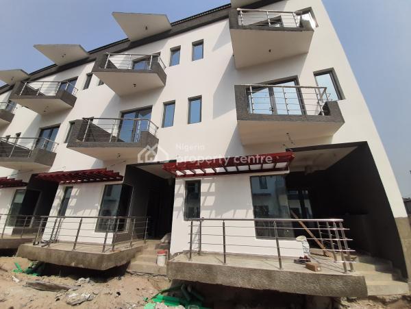 Exclusive Luxury Built 4 Bedroom Duplex House with Ocean View, Lekki Phase 1, Lekki, Lagos, Semi-detached Duplex for Sale