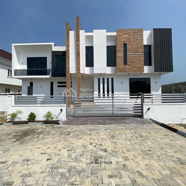 Lovely 5 Bedroom Fully Detached Duplex, Lake View, Ikota, Lekki, Lagos, Detached Duplex for Sale