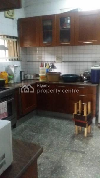 Well Built 4 Bedroom Detached House with 3 Bedroom Boys Quarters, Gbagada Phase 1, Gbagada, Lagos, Detached Duplex for Sale