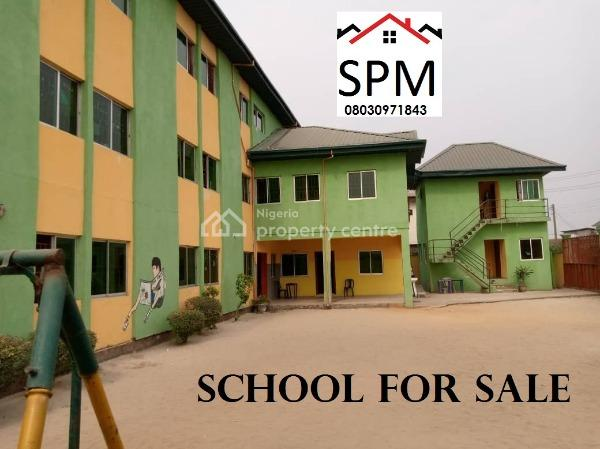 School, Rumuodomaya, Port Harcourt, Rivers, Commercial Property for Sale