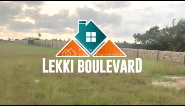 Lekki Boulevard Estate, Owode Ise, 3 Minutes Drive Away From La Campagne Tropicana Resort, Ibeju Lekki, Lagos, Residential Land for Sale