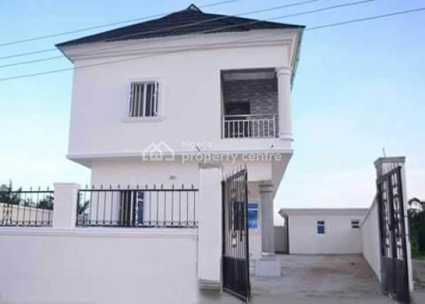4 Bedroom Detached Duplex with Rm Bq C/o, Gd News Estate B4 Sangotedo., Abijo, Lekki, Lagos, House for Sale
