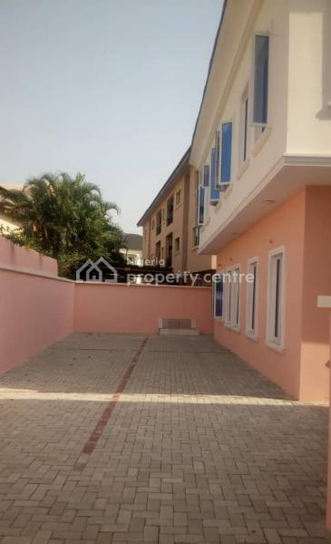 Newly Built,well Finished 4 Bedrooms Terrace in a Serene Environment, Agungi, Lekki, Lagos, Terraced Duplex for Rent