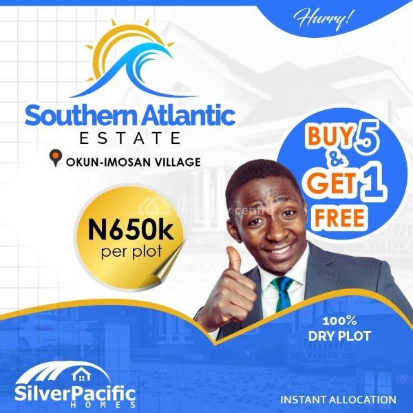 Southern Atlantic Villas Conceived As a Beach Resort Homes, Okun Imosan, Okun Imedu, Ibeju Lekki, Lagos, Residential Land for Sale