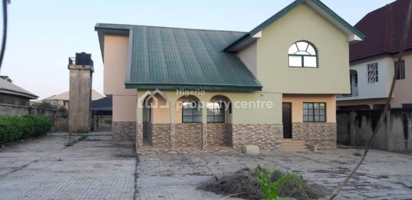 a Four Bedroom Duplex with All Necessary Facilities, Behind Leonac House, Alagbaka, Akure, Ondo, Detached Duplex for Sale