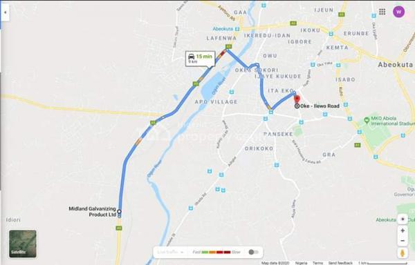 Land, Opposite Midgal Galvanizing Company, Ile Ise Pan., Abeokuta North, Ogun, Residential Land for Sale