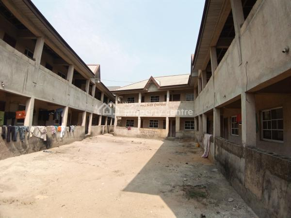 30 Rooms Self Contain Hostel, Opposite Law Faculty, Choba, Port Harcourt, Rivers, Self Contained (single Rooms) for Sale