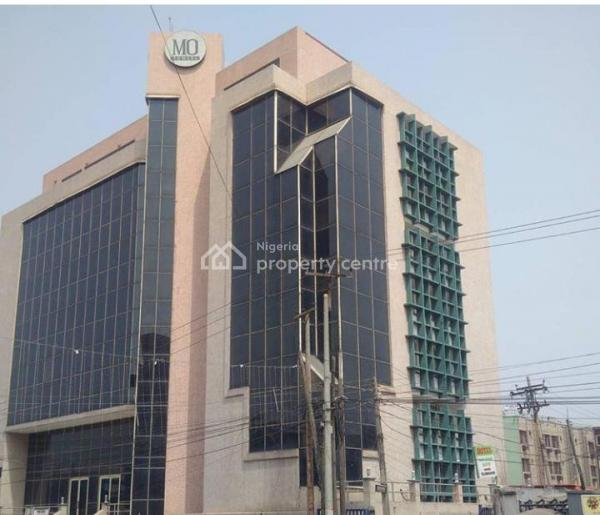a Commercial Building with Basement on 2,900sqm, Allen Avenue Street, Allen, Ikeja, Lagos, Office Space for Sale